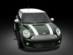 My first mini was a 2004 british racing green with white stripes....MGMM Mean Green Mini Machine!!! 2013 MINI Cooper Hardtop