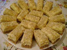 Prăjitură cu nucă și cremă de portocale – Betty's Kitchen Apple Pie, Biscuit, Sweets, Cooking, Desserts, Food, Pies, Deserts, Bakken