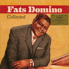Fats Domino ‎– Collected with covers: Lady Madonna & Lovely Rita The River, Vinyl Music, Vinyl Records, Rock N Roll Music, Rock And Roll, New Orleans, Lady Madonna, Bubblegum Pop, Jazz