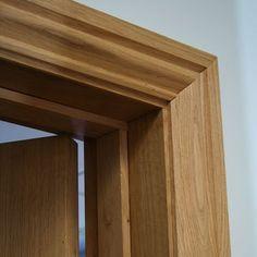 Oak Architrave from Broadleaf Timber Door Gate Design, Main Door Design, Wooden Door Design, Wood Front Doors, Oak Doors, Wooden Doors, Architrave Door, Door Frame Molding, Cornice Design