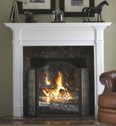 With a fireplace mantel shelf and a fireplace mantel surround, your mantel could be updated just before the holiday season gets started. http://www.mantelsdirect.com/mantel-blog/Fact-or-Fiction-Debunking-Fireplace-Mantel-Myths_2