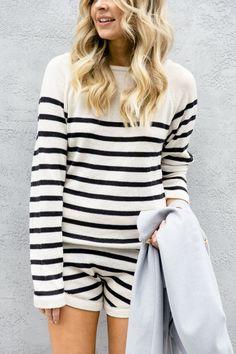 striped knits