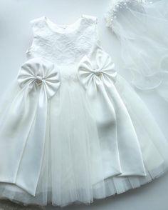 Imagine her in little white dress . #supercute #weddingflowedress #flowergirldress #flowergirls #happyelm #whitedress