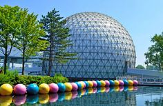 Cinesphere, Ontario Place Toronto, Ontario It was always a treat having a school field trip there to watch a movie on the biggest screen ever!