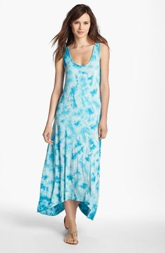 Kensie Tie Dye Maxi Dress available at #Nordstrom
