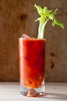 Our favorite Bloody Mary is a classic combination brightened by a hint of heat. Margarita Recipes, Cocktail Recipes, Drink Recipes, Cilantro, Classic Cocktails, Summer Cocktails, Bloody Mary Recipes, Vegetarian Recipes, Rouge