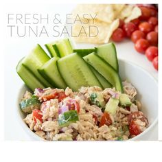 Fresh Tuna Salad Recipe | http://nancyferrer.com/fresh-tuna-salad-recipe/