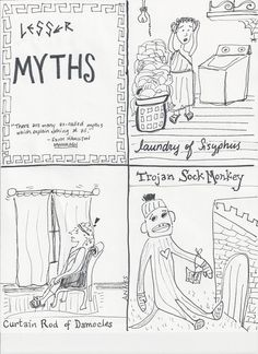 Some myths just aren't as enormous...but this one has a sock monkey.