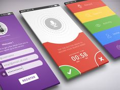 Recording App - Candy Colored Theme by Rahul Chakraborty