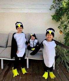 תחפושת של פינגווין penguin costume Penguin Costume, Halloween 2020, Madagascar, New Life, Penguins, Craft Ideas, Costumes, School, Fall