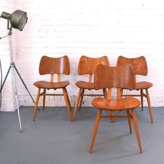 vintage ercol butterfly vhairs