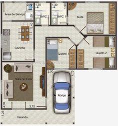 60 Trendy Home Plans Craftsman Design New Home Designs, Home Design Plans, Plan Design, Dream House Plans, House Floor Plans, Drawing House Plans, House Outside Design, House Construction Plan, Bungalow House Design