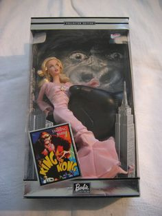 NRFB 2002 BARBIE in KING KONG Collector Edition 56737 Mattel 4 of 14 #Mattel #Doll