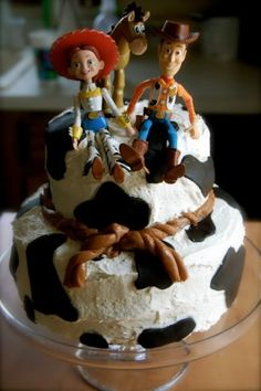 Toy Story Party I know a couple cowgirls that would love this cake - with no girls in my house I might need to do this