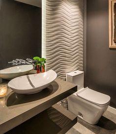 "129 Likes, 4 Comments - Cosmopolita Decor & Design (@cosmopolita_decor_design) on Instagram: ""Amei este lavabo!!! Me contem se gostaram! #decor #decoração #decorar #arquitetura #architecture…"""