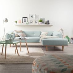 Cozy and Colorful Pastel Living Room Interior Style 2 Pastel Living Room, Cozy Living Rooms, Home Living Room, Interior Design Living Room, Living Room Designs, Living Room Decor, Modern Room Design, Living Area, Scandinavian Living