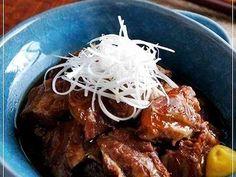 コラーゲンたっぷり♡豚バラ軟骨の角煮風煮の画像