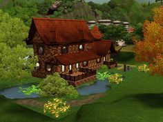 My sims 3 house in China that I made.