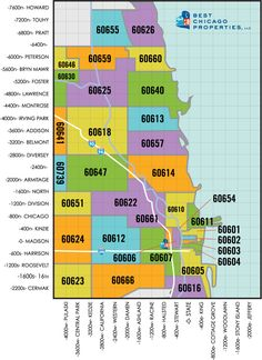 Know the Chicago zip code where you want to live? This map will help you find your the latest real estate listings for sale in your zip code. Chicago Real Estate For Sale By Zip Code Moving To Chicago, Chicago Map, Chicago Neighborhoods, Chicago Area, Las Vegas Map, Las Vegas City, Zip Code Map