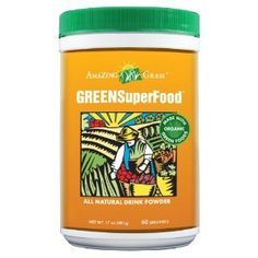 Amazing Grass Green SuperFood...I drink this everyday in my protein shake!  It's awesome!