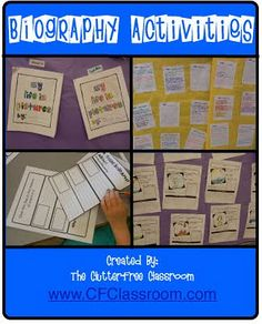 This is a great website in which to find lesson ideas as well as how to live a clutter free classroom life.