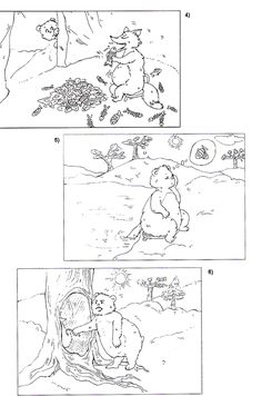 Ursul păcălit de vulpe    după Ion Creangă   - text adaptat -     Era oda... Ursula, Colouring Pages, Preschool, Education, Character, Quote Coloring Pages, Coloring Pages, Preschools, Printable Coloring Pages