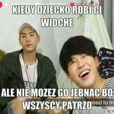 Read Memy from the story BTS × Memy, Zdjęcia, Gify by _gray_potato_ (zgniły ziemniak) with reads. K Meme, Funny Kpop Memes, Wtf Funny, Bts Memes, Asian Meme, Funny Mems, Funny Faces, K Pop, Read News