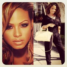 the PETITE MARIE bag & Christina Milian, known as an American singer-songwriter, actress, dancer, and model ..