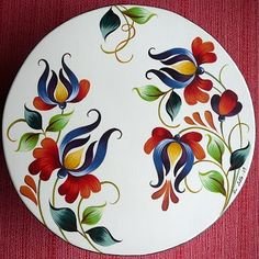 Google+ Pintura Country, One Stroke Painting, Love Painting, Fabric Painting, Ceramic Art, Ceramic Painting, Pottery Painting, China Painting, Ceramic Plates