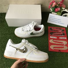 Nike Air Force 1 Low Travis Scott White f94c3c0be