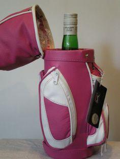 Wine Carrier Golf Wine Bag Caddy Insulated Wine Bottle Holder PGA Branded | eBay