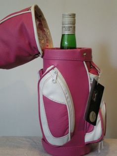 Wine Carrier Golf Wine Bag Caddy Insulated Wine Bottle Holder PGA Branded | eBay