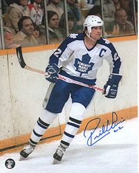 Rick Vaive - Toronto Maple Leafs - Away Hockey Baby, Ice Hockey, Hockey Shot, Nfl Shop, Nfl Fans, Sports Figures, National Hockey League, Toronto Maple Leafs, Detroit Red Wings
