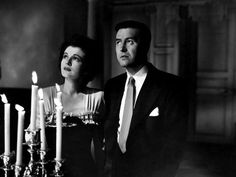 """The Uninvited"" 1944 is a wonderful ghost story. It is the first film to treat the idea of ghosts as authentic. It starred Ray Milland and Ruth Hussey."