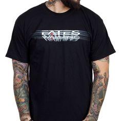 OFFICIAL ~ FATES WARNING Logo t-shirt
