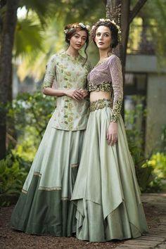 C-Green Color Party Wear Attractive Designer Lehenga Choli Choli Dress, Lehenga Choli, Anarkali, Green Lehenga, Dress Skirt, Indian Designer Outfits, Designer Dresses, Lehenga Style, Lehenga Designs