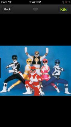 Power Rangers #comic con #old school