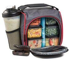baggy gym wear : HomEquip Meal Prep Lunch Bag lunch box with 6 Portion Control Food Boxes: Best Leak-Proof Canvas Insulated Cooler / Thermal Tote Bag Set with Shaker Cup- for Work School Gym & Picnics Men & Women Bag Lunch, Meal Prep Lunch Box, Unique 50th Birthday Gifts, Lunch Boxes For Men, Ice Bag, Gym Food, Picnic Bag, Prepped Lunches, Insulated Lunch Bags
