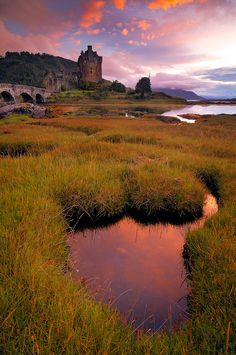 Scottish castle ...