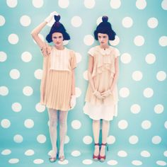 Two girls and their different personalities  ----  BERRY by jing Hu, via Behance