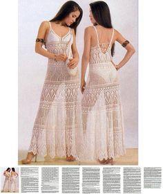 Maxi dress crochet PATTERN, crochet beach dress pattern, written description, maxi crochet skirt pattern, sexy dress for the beach wedding.
