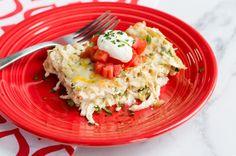 Recipe: Green Chili Chicken Lasagna
