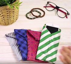 Vous ne savez pas quoi faire de cette vieille cravate qui traine dans vos placards? Avec des ciseaux, du fil et une aiguille, vous allez faire des miracles.