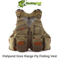 Fishpond Gore Range Tech Pack Fishing Vest-One size fits most - Item# 1402302 Fly Fishing Girls, Fly Fishing Gear, Fishing Gifts, Best Fishing, Fishing Lures, Fishing Apparel, Trout Fishing, Fly Fishing For Beginners, Fishing Basics