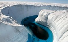 Ice Canyon in Greenland | Places to See In Your Lifetime