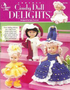 Annie's Attic 871718 Cindy Doll Delights Crochet by lucysbud