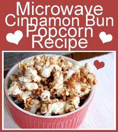 Gourmet Cinnabon Popcorn Recipe: Cinnamon Bun Popcorn?..yum!