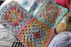 Susan Pinner: STONE WASH YARNS and PIXEL BLANKETS