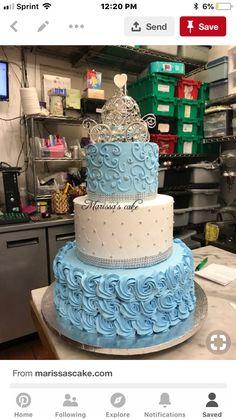22 New Ideas Cake Ideas Disney Sweets Cinderella Quinceanera Themes, Quinceanera Cakes, Quinceanera Ideas, Cinderella Themed Weddings, Cinderella Birthday Cakes, Cinderella Cupcakes, Cinderella Party, Cinderella Sweet 16, Quince Themes
