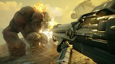 Rage 2 officially launched yesterday on PC, PlayStation 4 and Xbox One. A direct sequel to first-person shooter game, it has been co-developed by id Soft Ps4 Games, News Games, Video Games, Playstation Games, Call Of Duty, Doom Bfg, Xbox One, Avalanche Studios, Rage Game